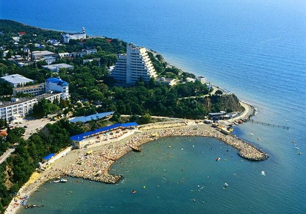 Горящие путёвки на чёрное море россия на хуй